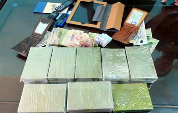 Big drug trafficking ring uncovered, 15 heroin bricks seized hinh anh 1