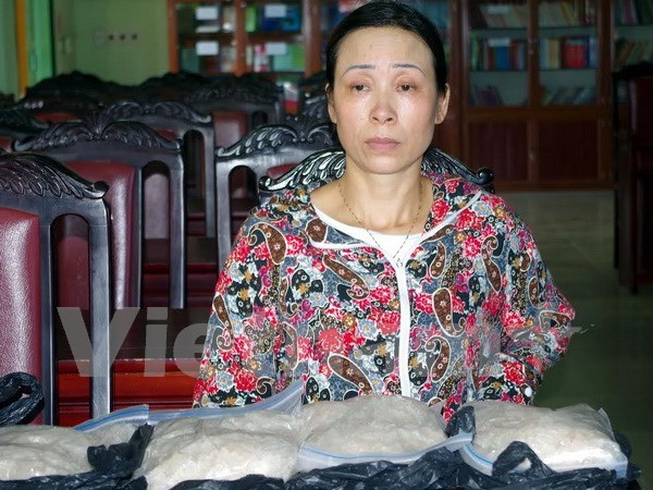 Quang Ninh: woman caught with 4 kg of heroin hinh anh 1