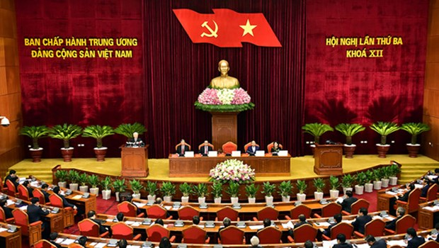 Party Central Committee scrutinises working regulations hinh anh 1