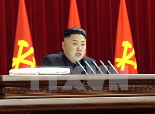 Congratulations to DPRK leader on new position hinh anh 1