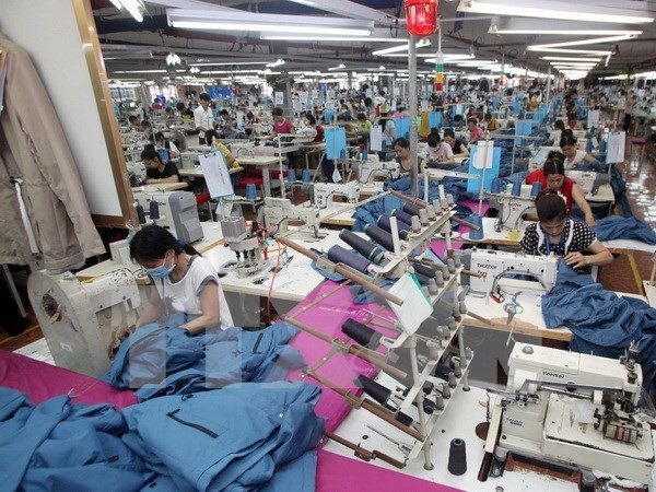 Hanoi: export revenue hit over 5.2 billion USD in first half hinh anh 1