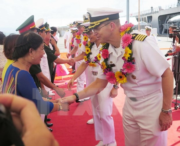 Pacific Partnership programme 2016 launched in Da Nang hinh anh 1