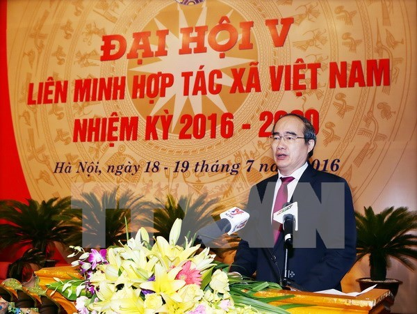 Cooperatives should be restructured for stronger development: official hinh anh 1