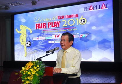 2016 football Fair Play Awards announced hinh anh 1