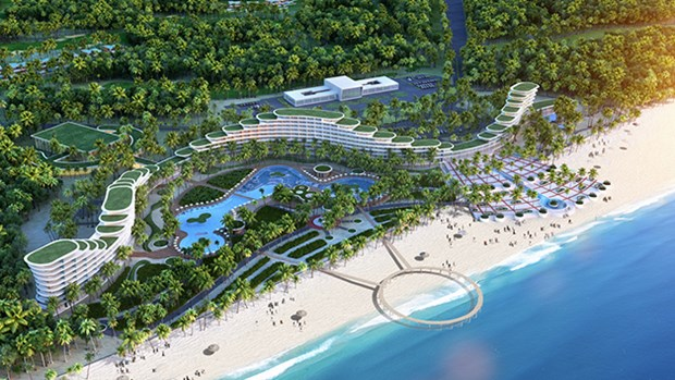 FLC Quy Nhon opens, hoped to give boost to local tourism hinh anh 1