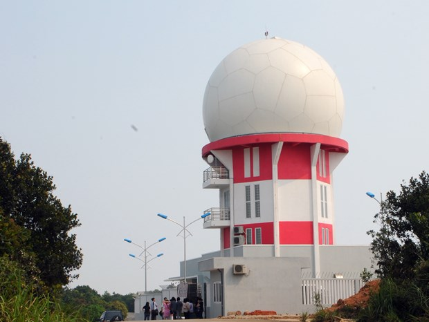 Second radar station operational in Da Nang hinh anh 1
