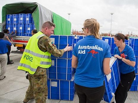 Australia provides additional humanitarian aid to Myanmar hinh anh 1