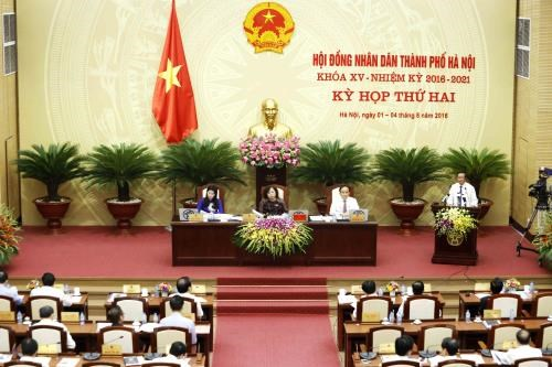 Hanoi People's Council passes socio-economic development plan hinh anh 1