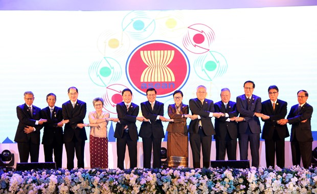48th ASEAN Economic Ministers' Meeting wraps up hinh anh 1