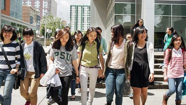 Vietnamese students in US meet in fourth gathering hinh anh 1