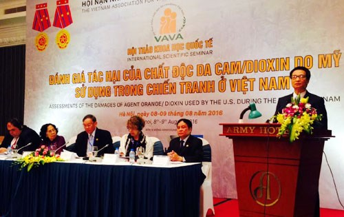 Int'l workshop to address AO/dioxin consequences held in Hanoi hinh anh 1