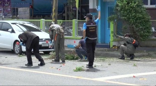 Thai police find more explosive devices hinh anh 1