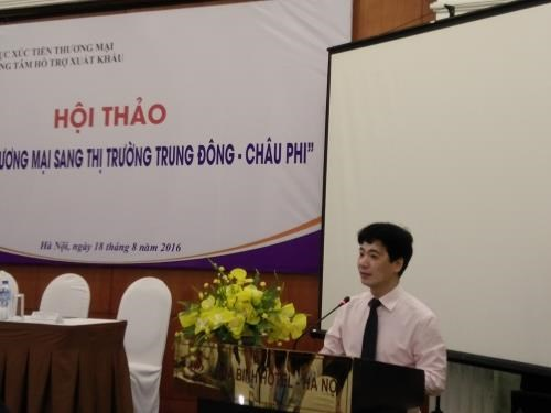 Vietnam promotes trade to Middle East, Africa hinh anh 1