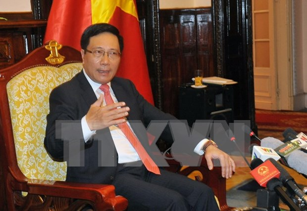 External activities enhanced to safeguard nation's supreme interests hinh anh 1