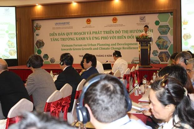 Forum promotes green, climate change resilient urban hinh anh 1