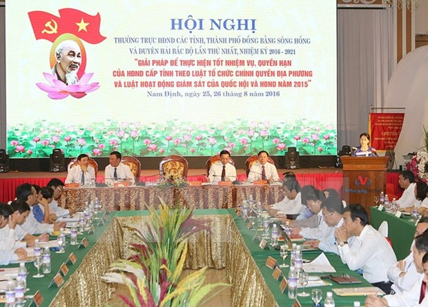 Deputies to People's Councils in the north convene conference hinh anh 1