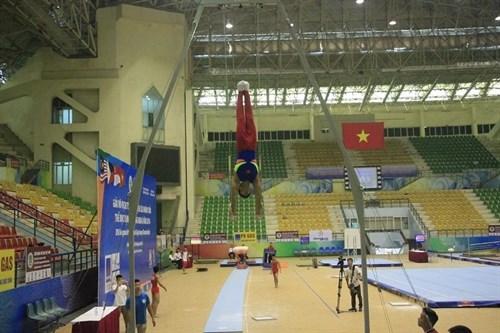 Gymnastics gold rush for Vietnam hinh anh 1