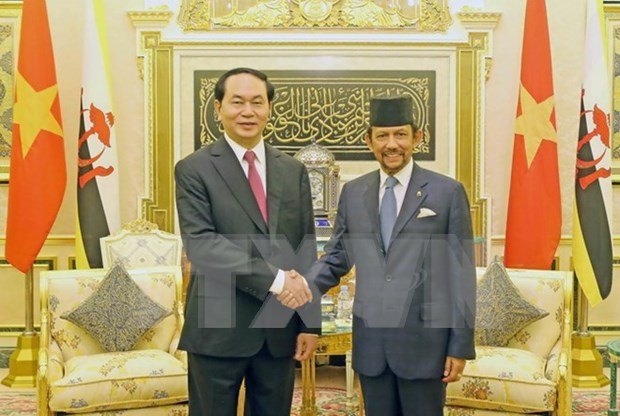Vietnam - Brunei Joint Statement hinh anh 1