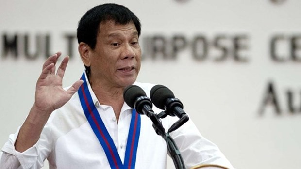 Philippine President: Talks should be based on Hague ruling hinh anh 1