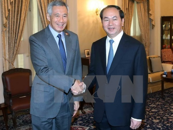 Vietnam-Singapore Joint Press Statement hinh anh 1