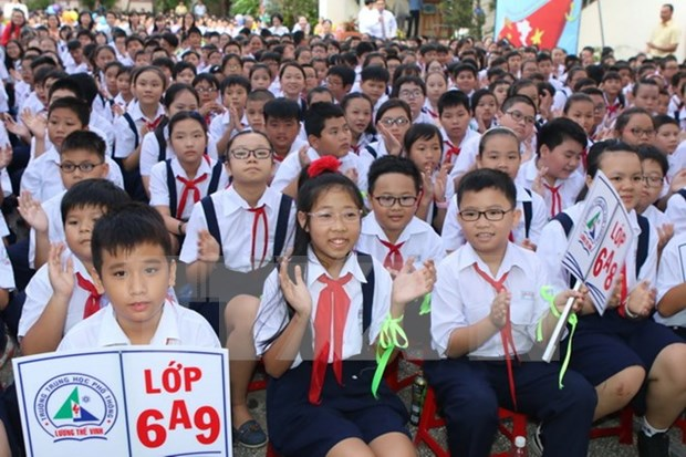 22.5 million students welcome new school year hinh anh 1