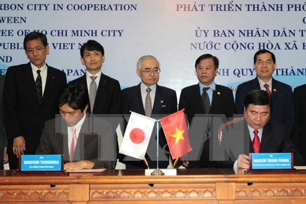 HCM City, Osaka cooperate in building low-carbon society hinh anh 1