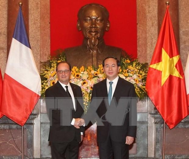 State visit gives new impulse to Vietnam-France strategic partnership hinh anh 1