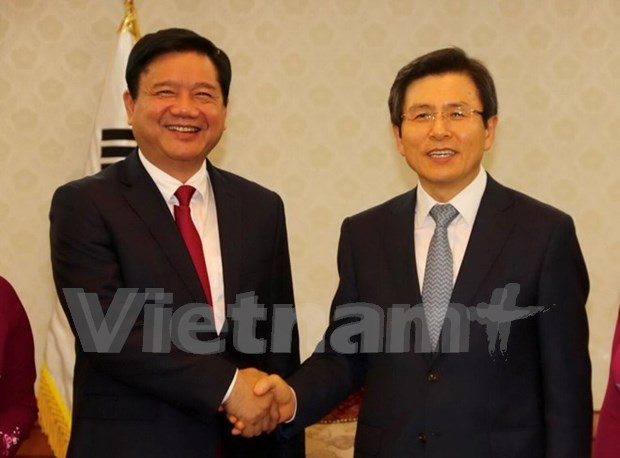 HCM City officials tour RoK to seek closer wide-ranging relations hinh anh 1