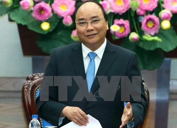 PM Nguyen Xuan Phuc departs for official visit to China hinh anh 1