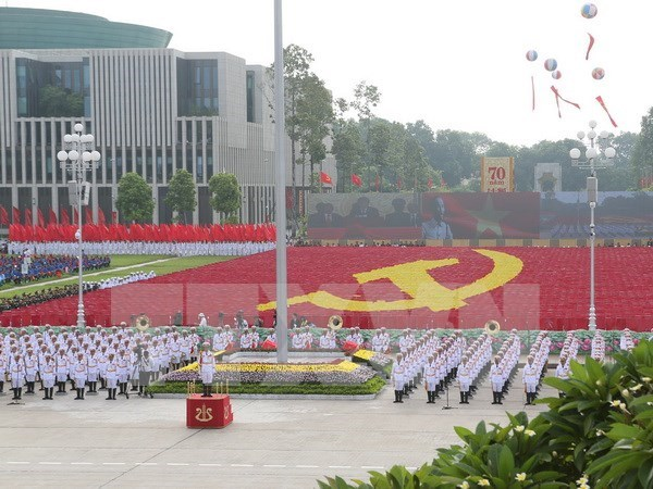 Greetings from abroad on Vietnam's National Day hinh anh 1
