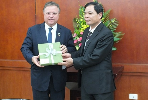 Vietnam, Brazil forge cooperation in agriculture hinh anh 1