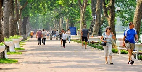 Hanoi's 936 streets to feature natural stone hinh anh 1
