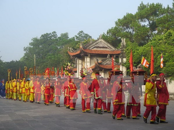 Various activities featured at Con Son – Kiep Bac autumn festival hinh anh 1