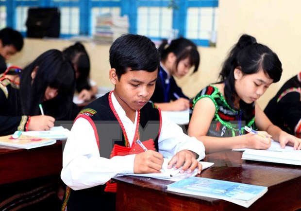 UNICEF-funded bilingual education project benefits ethnic pupils hinh anh 1