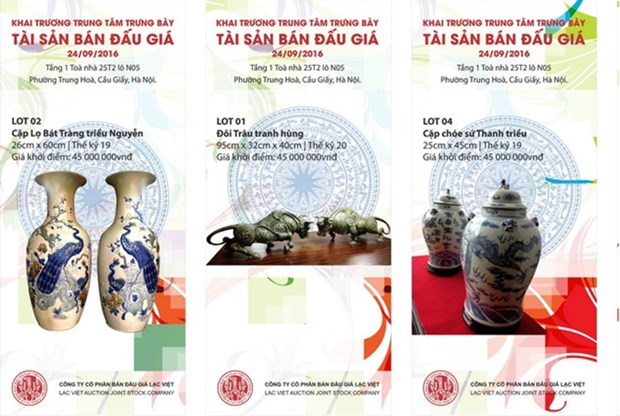Vietnam's first ever art auction house to be opened hinh anh 1