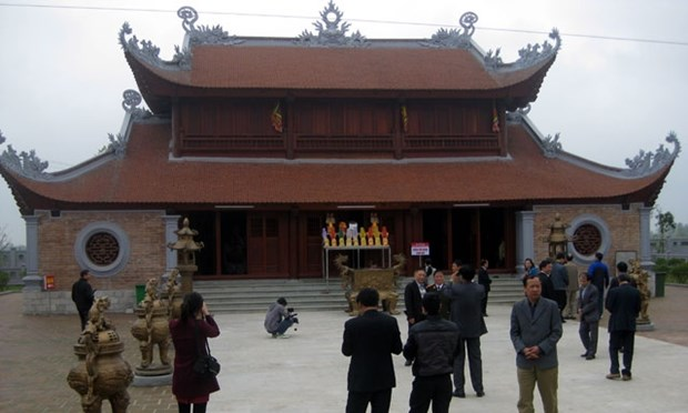 A Sao Temple Festival kicks off hinh anh 1