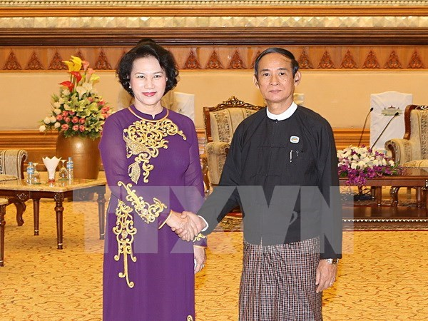 Vietnam eyes multi-faceted cooperation with Myanmar hinh anh 1