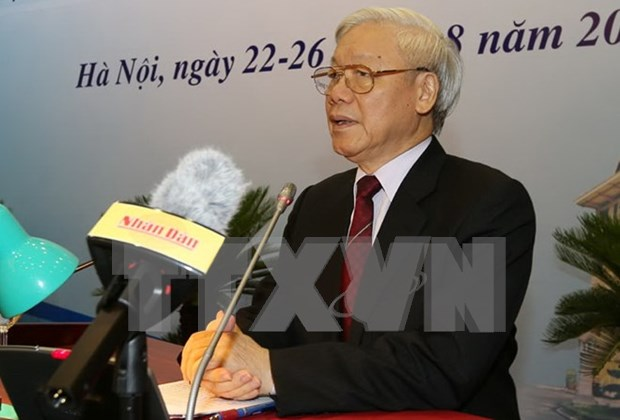 Vietnam leaders congratulate Chinese counterparts on National Day hinh anh 1