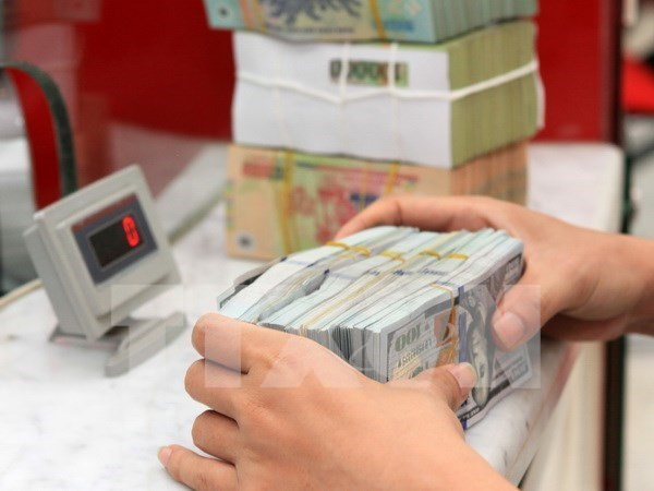 Reference exchange rate for VND/USD rises by 9 VND hinh anh 1