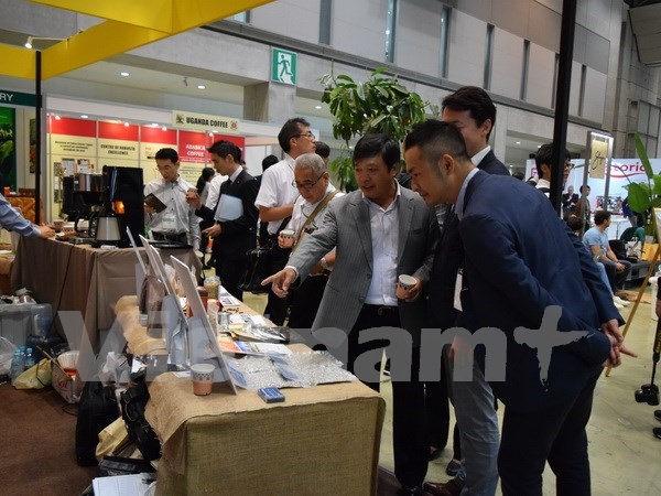 Vietnam's Arabia coffee marketed at Japan exhibition hinh anh 1