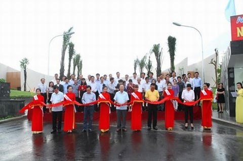 Waste treatment project launched in Hau Giang hinh anh 1