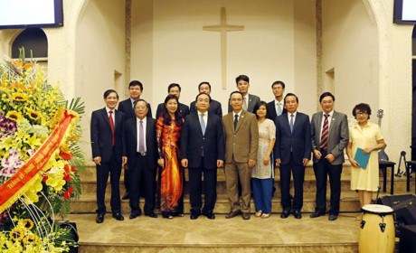Centenary congratulations to Hanoi Evangelical Church hinh anh 1