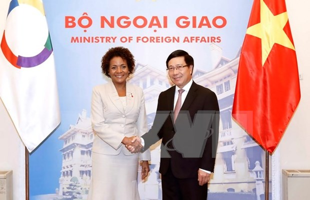 Vietnam supports economic cooperation in Francophone organisation hinh anh 1