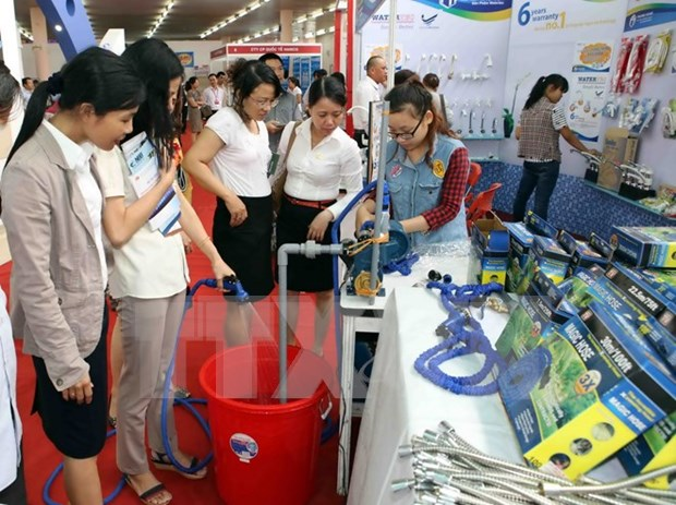 Can Tho hosts Vietbuild international exhibition 2016 hinh anh 1