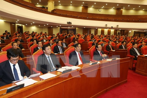 Party Central Committee wraps up fourth plenary meeting hinh anh 1