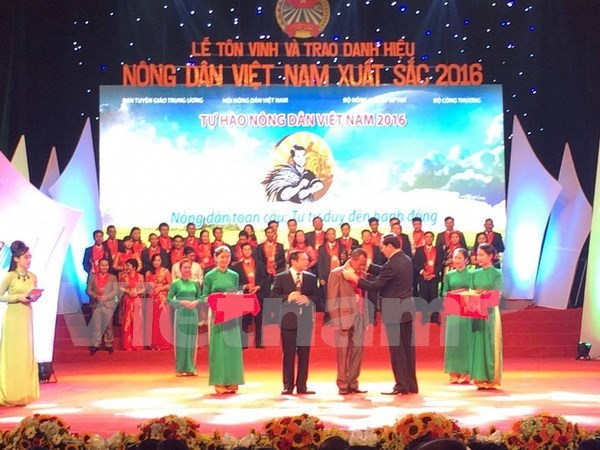 Outstanding farmers honoured in Hanoi hinh anh 1