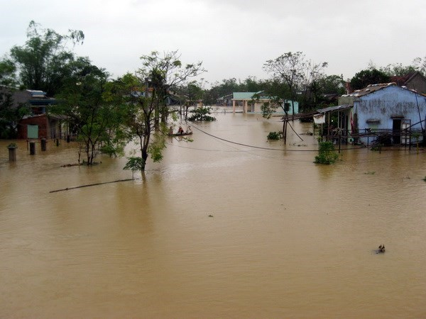 Flood victims receive nationwide support hinh anh 1