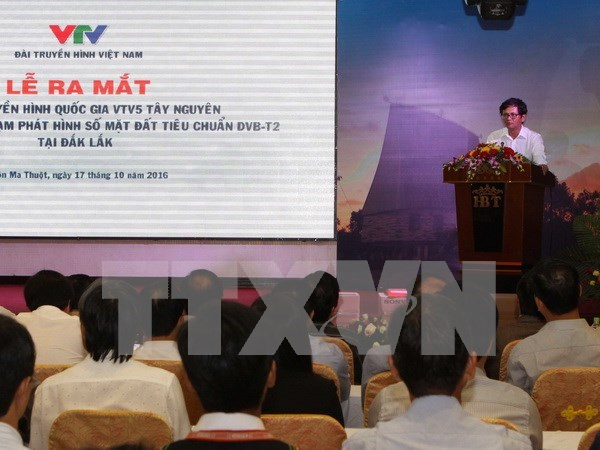 Specialised TV channel for Central Highlands launched hinh anh 1
