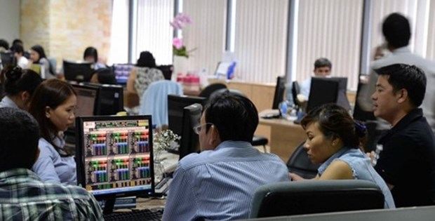 Vietnamese shares decline after two-day rise hinh anh 1