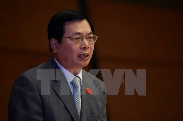 Discipline proposed for former MoIT minister Vu Huy Hoang hinh anh 1